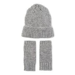 Scoop Women's Knit Beanie and Fingerless Gloves | Walmart (US)