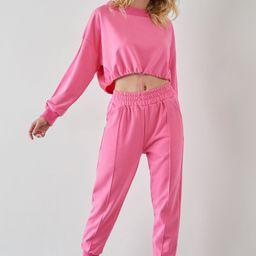 Gwyneth Hot Pink Slouchy Pants   J.ING