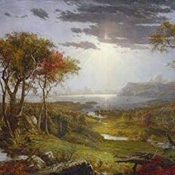 Posterazzi Autumn-On The Hudson River Poster Print, (24 x 18) | Amazon (US)
