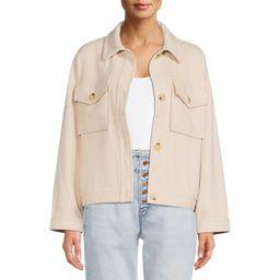 Time and Tru Women's Shirt Jacket | Walmart (US)