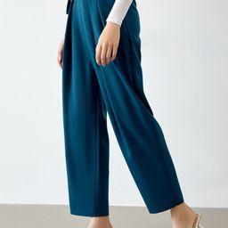 Yuliana Blue Slouchy Pants   J.ING