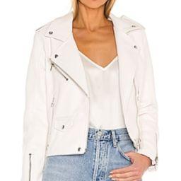 Vegan Leather Moto Jacket                                          BLANKNYC   Revolve Clothing (Global)