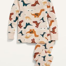 Unisex Long-Sleeve Printed Pajama Set for Toddler & Baby   Old Navy (US)