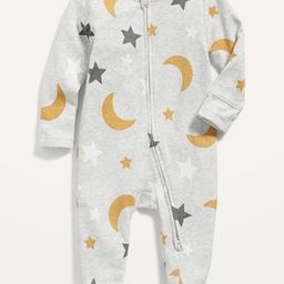 Unisex Printed Sleep & Play Footed One-Piece for Baby   Old Navy (US)