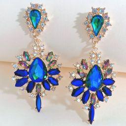 Gemstone Decor Drop Earrings | SHEIN