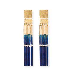 Padme Earrings, Navy Blue | Neiman Marcus