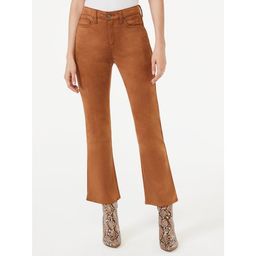 Scoop Women's Ankle Crop Flare Jeans | Walmart (US)