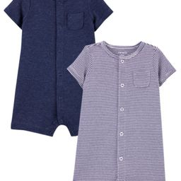 2-Pack Snap-Up Rompers | Carter's
