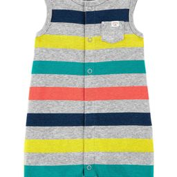 Striped Snap-Up Romper | Carter's