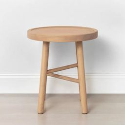 Shaker Accent Table or Stool Natural - Hearth & Hand™ with Magnolia   Target