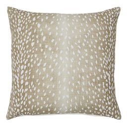 Antelope Print Silk Throw Pillow | Ballard Designs, Inc.