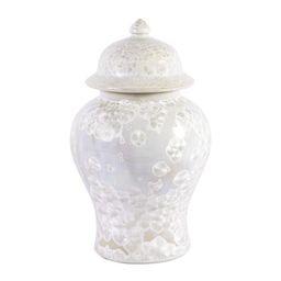 Mother of Pearl Temple Jar | Cailini Coastal