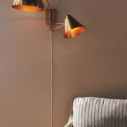 Amber Lewis for Anthropologie Mixed Shape Multi-Arm Sconce   Anthropologie (US)