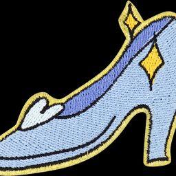 Disney Princess Glass Slipper Patch | Stoney Clover Lane