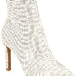 Annina Rhinestone Embellished Dress Booties   Dillards