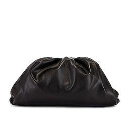Bottega Veneta The Pouch Clutch in Black | FWRD