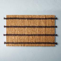 Multi Stripe Estate Coir Door Mat - Hearth & Hand™ with Magnolia | Target