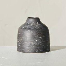 Distressed Ceramic Vase Dark Gray - Hearth & Hand™ with Magnolia | Target