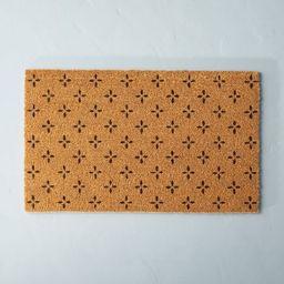Floral Print Coir Door Mat - Hearth & Hand™ with Magnolia | Target