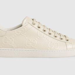 Women's GG embossed Ace sneaker | Gucci (US)