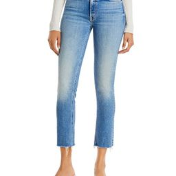 Dazzler Mid Rise Ankle Fray Jeans in Riding The Cliffside | Bloomingdale's (US)