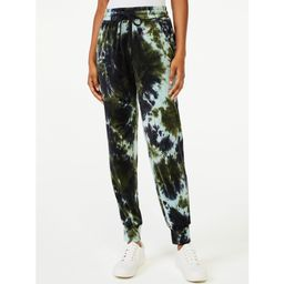 Scoop - Scoop Women's Velour Jogger Pants - Walmart.com | Walmart (US)