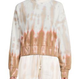 Bohemian Rose - Bohemian Rose Women's Vertical Tie Dye Fleece Sweatshirt - Walmart.com | Walmart (US)