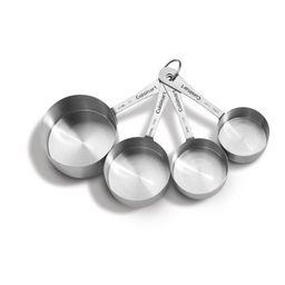 Cuisinart Non-Handled Stainless Steel Measuring Cups - Walmart.com | Walmart (US)