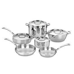 Cuisinart French Classic 10 Piece Set Cookware Set - Walmart.com | Walmart (US)