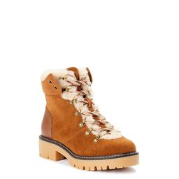 Time and Tru - Time and Tru Women's Cozy Hiker Boot (Wide Width Available) - Walmart.com | Walmart (US)