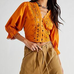 Louella Embroidered Top   Free People (US)
