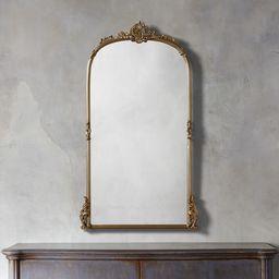 Amelie Wall Mirror in Gold   Arhaus   Arhaus