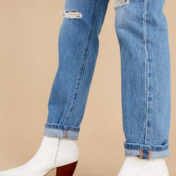 Caty White Snake Ankle Boots | Red Dress