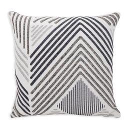 "Better Homes & Gardens Decorative Geometric Throw Pillow, Chevron Pattern, 18"" x 18"" - Walmart.co... | Walmart (US)"