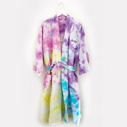NAME DROP 3 embroidered full length tie-dye robe in Candye | Etsy | Etsy (US)
