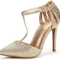 DREAM PAIRS Women's Oppointed-Mary Pump Shoe | Amazon (US)