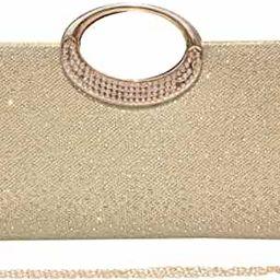 Labair Women Rhinestone Clutch Purse Handbag Crystal Evening Bag Wedding Party Prom Purse. | Amazon (US)