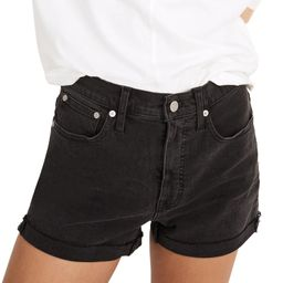 High Waist Raw Hem Denim Shorts | Nordstrom