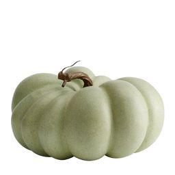 "Faux Pumpkins, Sage, Medium, 9"" diameter | Pottery Barn (US)"