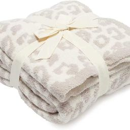 Soft Fuzzy Fluffy Leopard Knitted Throw Blanket,Cozy Plush Fleece Comfy Microfiber Blanket for Co...   Amazon (US)