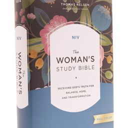 NIV, The Woman's Study Bible, Hardcover, Full-Color: Receiving God's Truth for Balance, Hope, and... | Amazon (US)