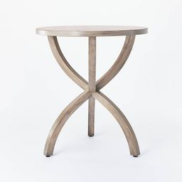 Mesa Verde Wood Curved Leg Accent Table - Threshold™ designed with Studio McGee | Target