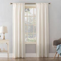 Mainstays Textured Solid Curtain Single Panel - Walmart.com   Walmart (US)