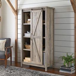 "Better Homes & Gardens 66"" Modern Farmhouse Bookcase Storage Cabinet, Rustic Gray Finish - Walmar...   Walmart (US)"