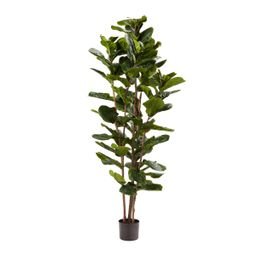 Pure Garden Artificial Fiddle Leaf Fig Tree - Faux Plant in Pot with Natural Feel Leaves-Realisti...   Walmart (US)