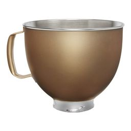 5 Quart Tilt-Head Gold Metallic Finish Stainless Steel Bowl - KSM5SSBVG | Walmart (US)