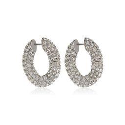 Loop crystal-embellished earrings   Mytheresa (DACH)