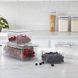 THE HOME EDIT Small Berry Bin Clear | The Container Store