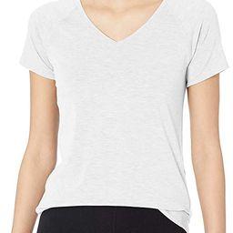 Amazon Essentials Women's Studio Short-Sleeve Lightweight V-Neck T-Shirt | Amazon (US)