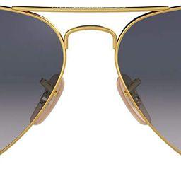Ray-Ban Rb3025 Classic Polarized Aviator Sunglasses | Amazon (US)